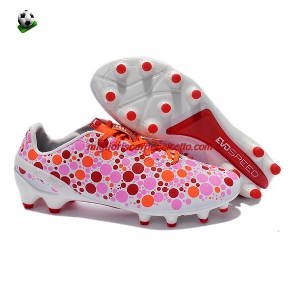 Scarpette Di Calcio Puma Evospeed CAMO 12 FG Bambino Sachet Rosa Virtual Rosa Hot Coral Seattle