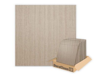 DuraClean Smooth Driftwood 2x2 Ceiling Tile (Box of 12)