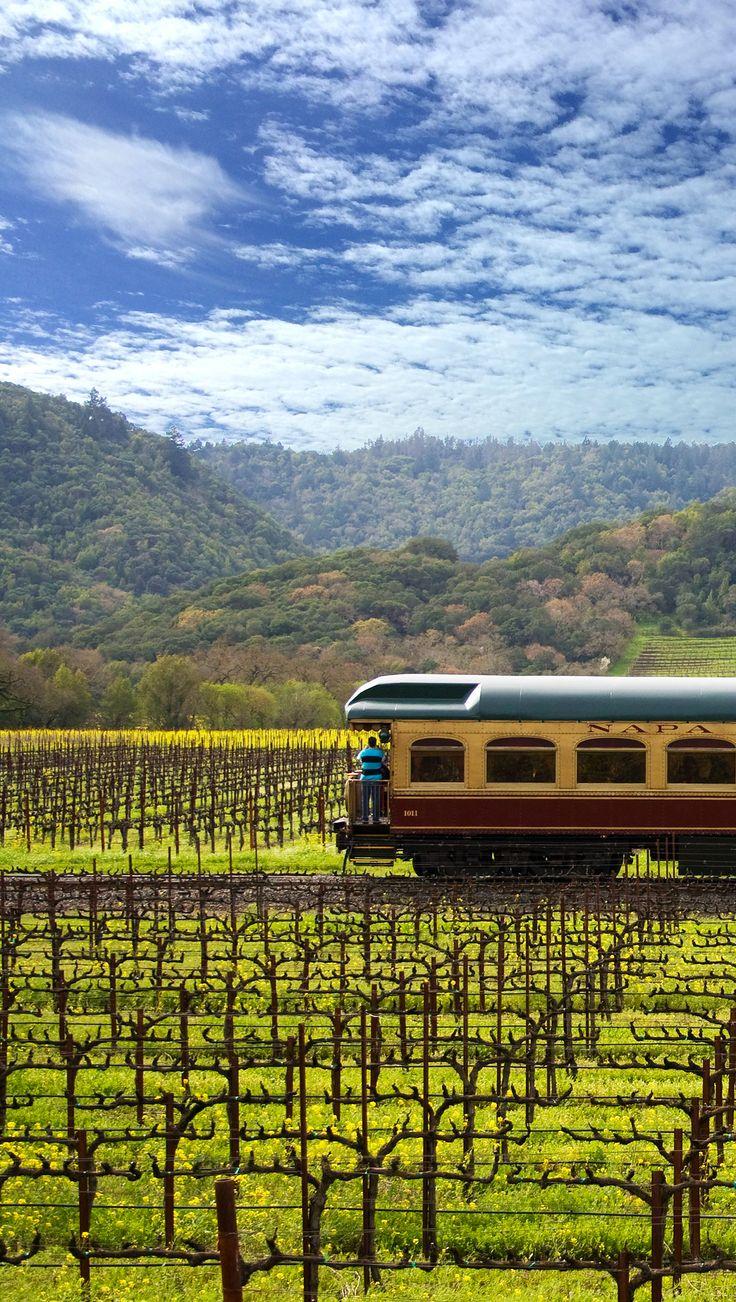 Napa Valley Wine Train.