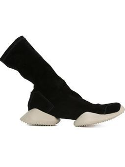 Visions of the Future // Rick Owens X Adidas 'Tech Runner' boots