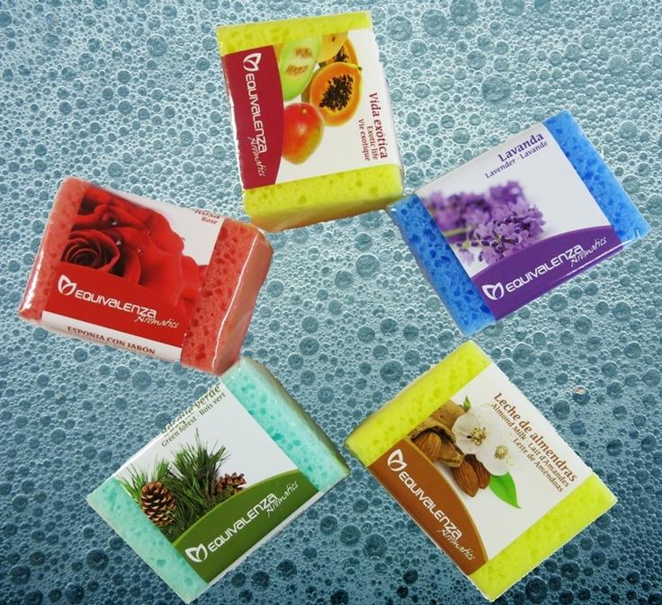 Nuevas esponjas con jabón de #Equivalenza. ¡Elige la tuya!
