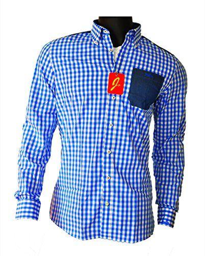 #Wiesn #Oktoberfest #JayPee #Herren #Hemd in #Modern #Slim #Fit aus #100% #Baumwolle #Kariert #Trachtenhemd #JP #(S, #blau #(blue-jeans)) JayPee Herren Hemd in Modern Slim Fit aus 100% Baumwolle Kariert Trachtenhemd JP (S, blau (blue-jeans)), , Design Karo Herren Langarm Hemd, Modern Slim Fit (figurbetont), mit verstärktem Button-Down-Kragen, 100% Baumwolle (Maschinenwäsche), JayPee Qualitätsware