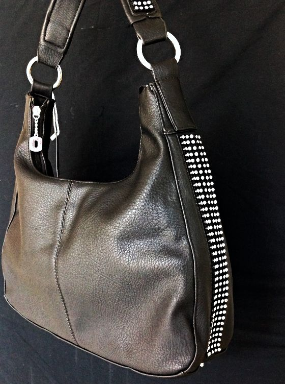 Concealed Carry Ambidextrous Clear Stones Hobo Handbag W Holster Methods Pinterest Handbags And