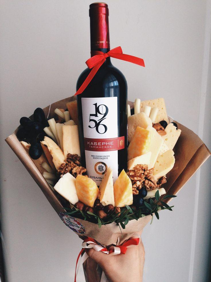 Картинки по запросу мужской букет с вином