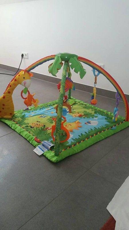 Krabbeldecke Spieldecke Fisher Price Rainforest