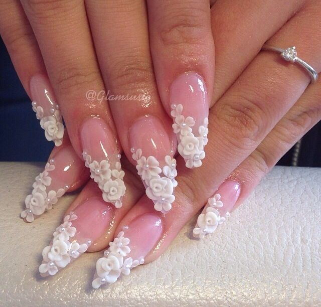 Best 25 3d nail designs ideas on pinterest nail crystal designs 3d nail design pretty nails stiletto nails nail polish flower nail design prinsesfo Image collections
