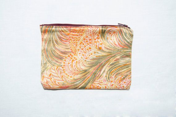 Exclusive Satin Case in Vintage Floral Fabric