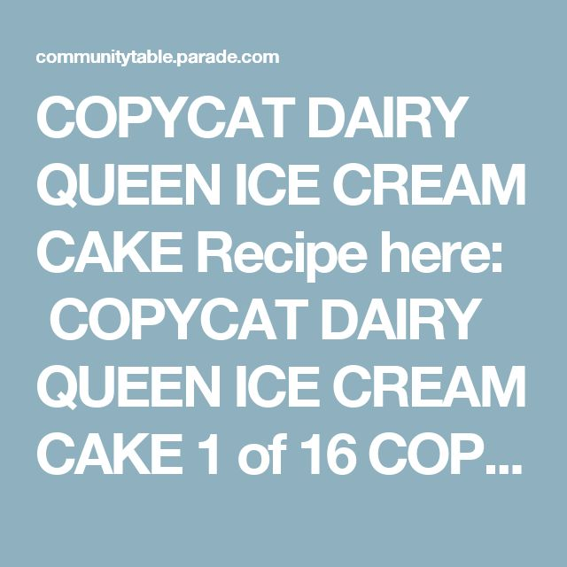 COPYCAT DAIRY QUEEN ICE CREAM CAKE Recipe here:  COPYCAT DAIRY QUEEN ICE CREAM CAKE 1 of 16 COPYCAT PANERA MAC N CHEESE Recipe here:  COPYCAT PANERA MAC N CHEESE 2 of 16 FISH FILLET SANDWICH WITH HOMEMADE TARTAR SAUCE Recipe here:  FISH FILLET SANDWICH WITH HOMEMADE TARTAR SAUCE 3 of 16 COPYCAT MACARONI GRILL ROSEMARY BREAD Recipe here:  COPYCAT MACARONI GRILL ROSEMARY BREAD 4 of 16 COPYCAT MAGGIANO'S CHOPPED SALAD Recipe here:  COPYCAT MAGGIANO'S CHOPPED SALAD 5 of 16 PANDA EXPRE...