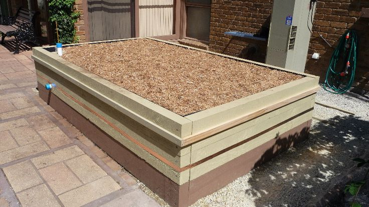 15. Completed Garden Ecobed.....It just needs the pest exclusion frame to be fully equiped.