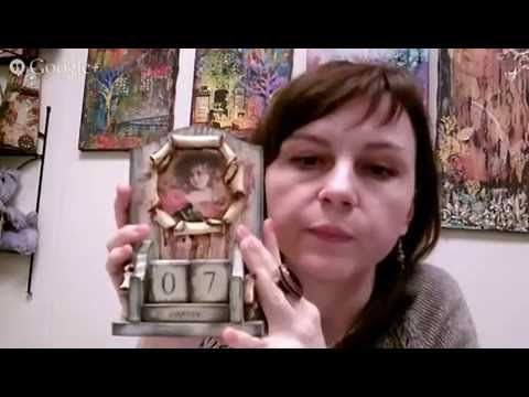 Декупаж  Микс медиа  Коллаж с фотографиями  Наталья Жукова