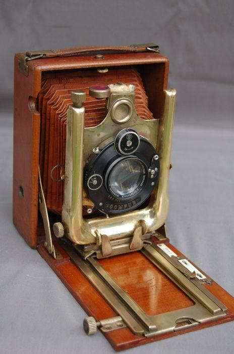 Tropen platencamera Duits, ong. 1915