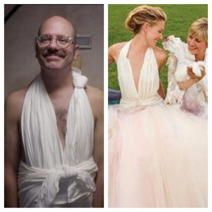 Portia De Rossi Wedding Gown: Arrested Development. Tobias Funke. Portia De Rossi