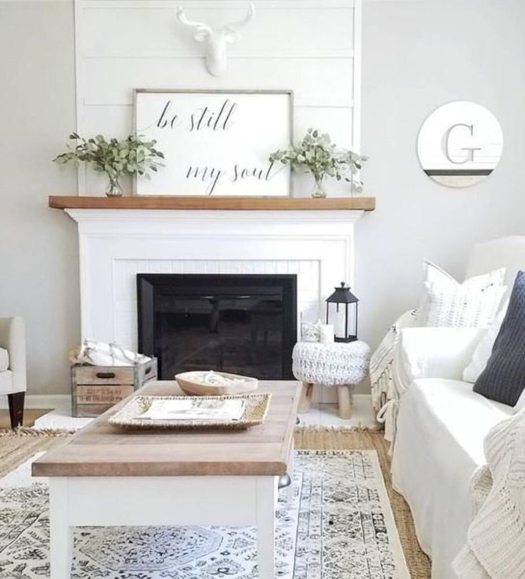 35 Modern Farmhouse Living Room Decor Ideas