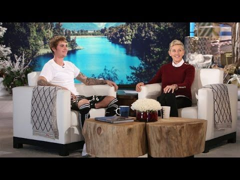 Justin Bieber's Exciting Announcement on The Ellen Show