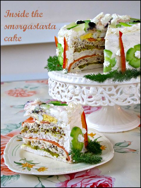 The English Can Cook: Boxing Day recipe: Smorgåstårta/Sandwich cake