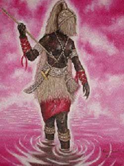 Yewá - no fundamento de Omolu