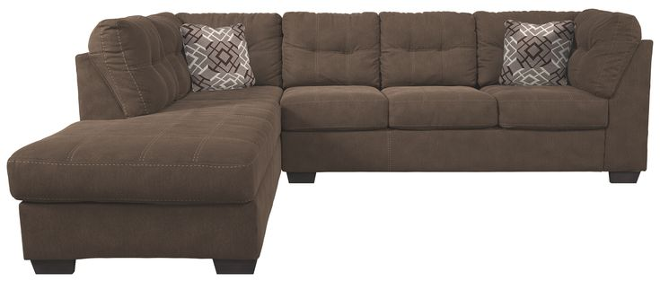 Pitkin Sectional And Pillows Walnut In 2019 Pillows