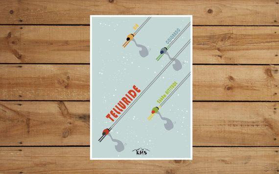 Ski vintage CUSTOMIZED PRINTABLE your by KeepMakingSmiles on Etsy