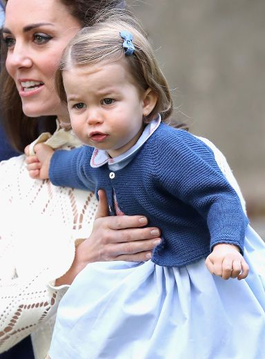 Royal playdate: Prince George and Princess Charlotte attend children's party in