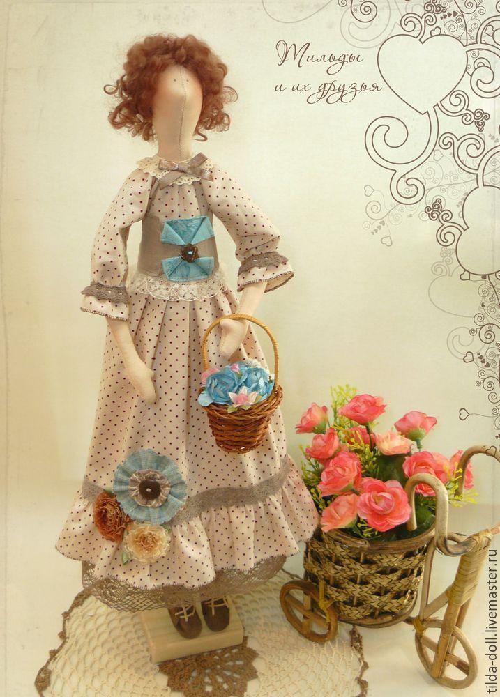 Купить Кукла тильда Варвара - тильда, кукла Тильда, куклы тильды, тильда кукла ♡