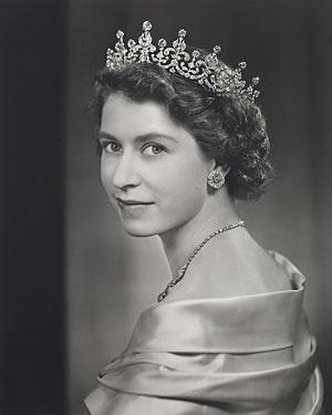 HRH The Princess Elizabeth, Duchess of Edinburgh, 1951