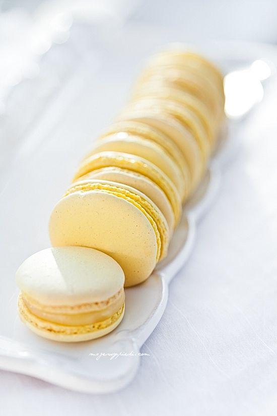 Лимон миндальное печенье