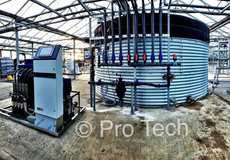 Priva Nutriflex Rig with automatic climate control