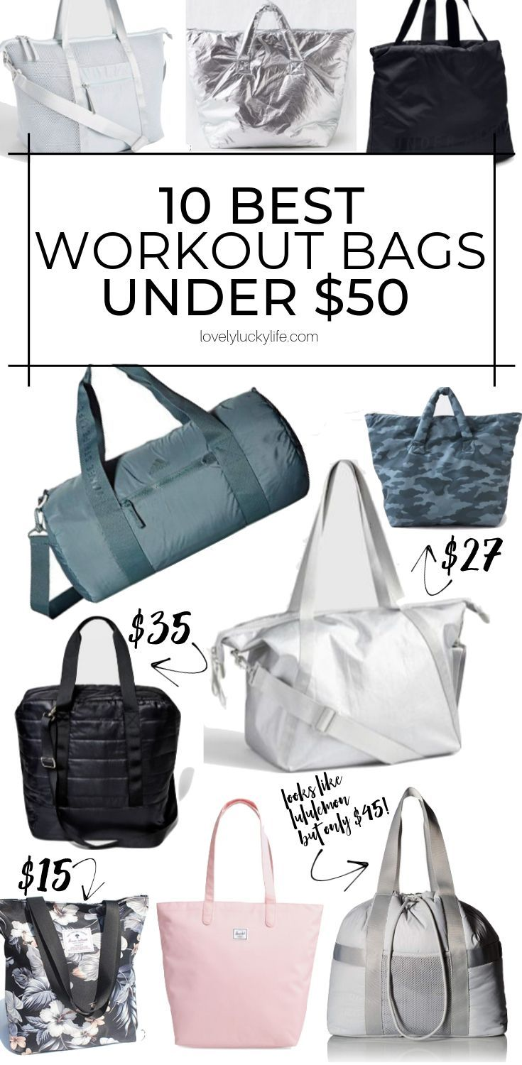 Workout Bags For Women Under 50