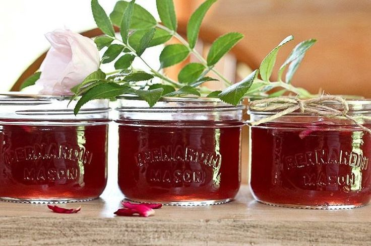 Home Canning: Rose Petal Jelly Recipe - Powered by @ultimaterecipe