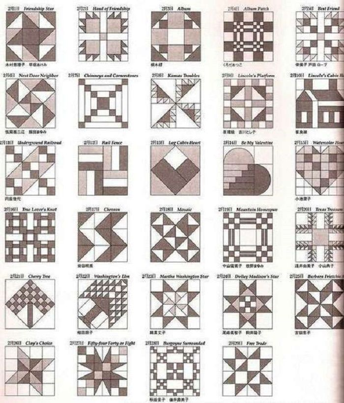 Лоскутное шитье для начинающих: разная техника, схемы, идеи
