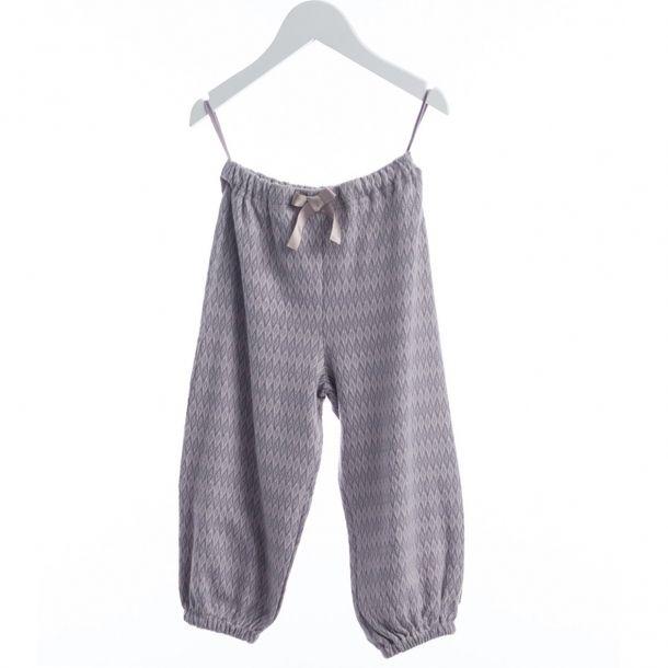 Jaquard bukser