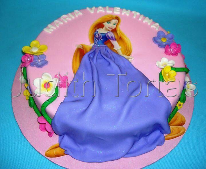 Torta rapunzel | Tortas Infantiles