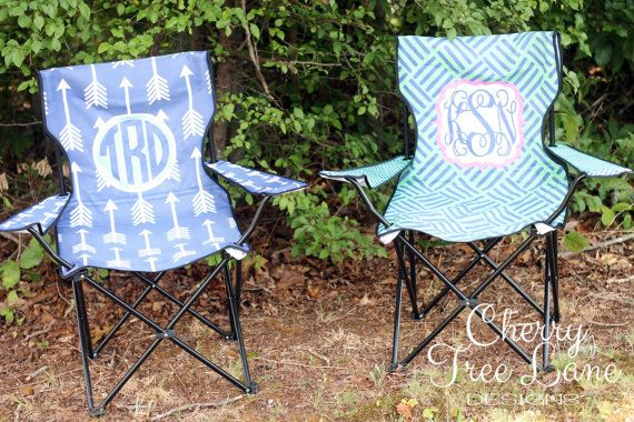 Personalized Foldable Lawn Chair  Sport by CherryTreeLaneDesign
