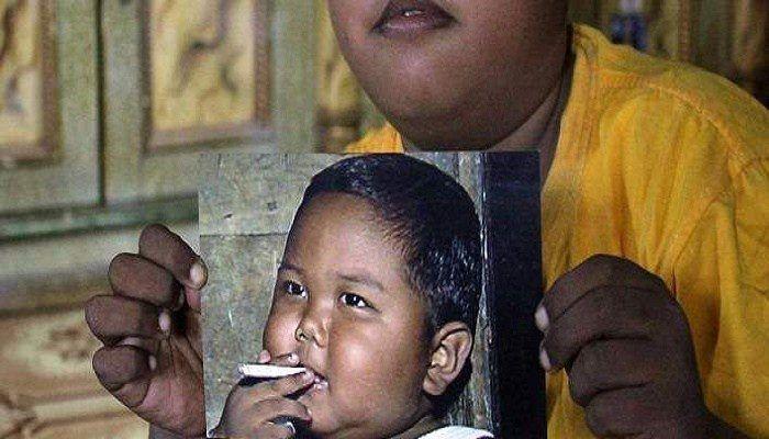 Πώς είναι σήμερα το παιδί που από τα 2 του κάπνιζε μανιωδώς, 40 τσιγάρα την ημέρα  #Ενημέρωση