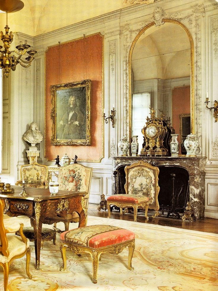 A French Salon is elegant,opulent and exquisite in its decor and classic architectural features