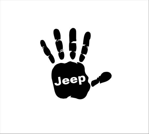 Jeep Wave Vinyl Sticker Decal Pair Left Amp Right Jeep