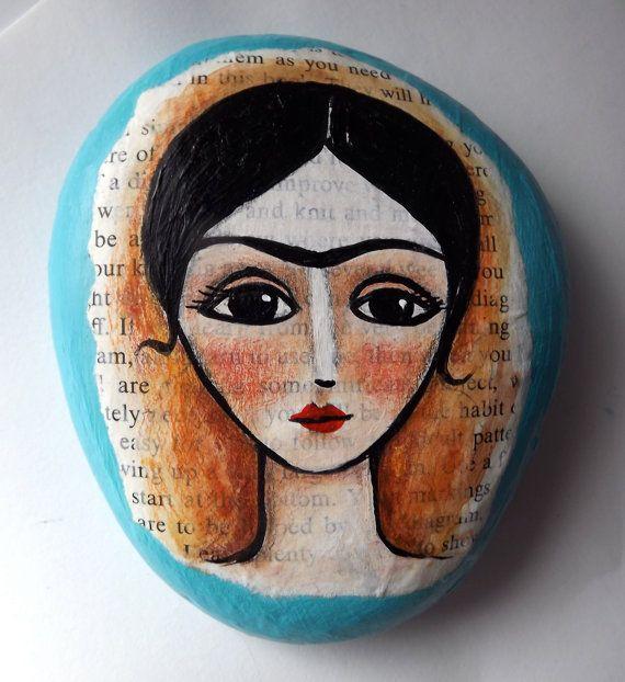 Frida Khalo- en piedra