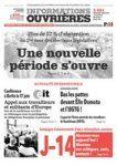 Parti Ouvrier Indépendant 38 : L'EDITO et les premières pages d'Informations Ouvr...
