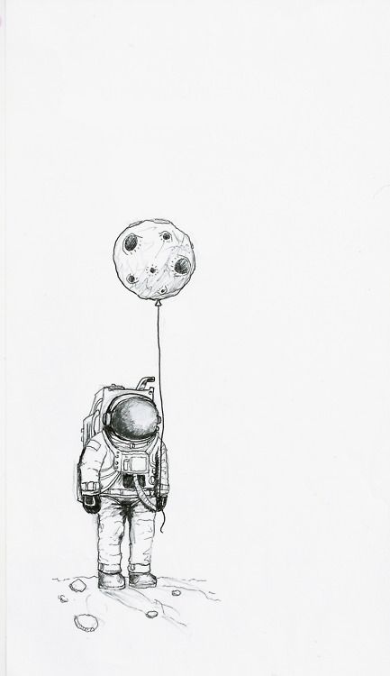 moon balloon space odyssey pinterest moon sketches and drawings