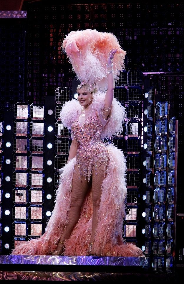 Kylie Minogue | Follow our Showgirl board here --> http://www.pinterest.com/thevioletvixen/showgirl/