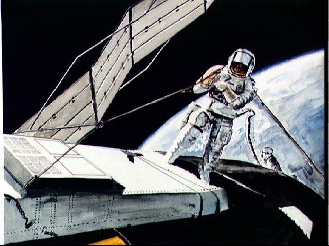 starfire astronauts laser beam robots - photo #35