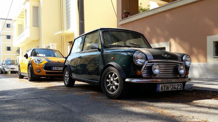 Old vs new mini - Kerkyra Corfu