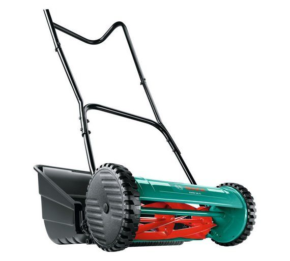 Buy Bosch AHM38G 38cm Wide Cylinder Mower at Argos.co.uk, visit Argos.co.uk to shop online for Lawnmowers and accessories, Lawnmowers and garden power tools, Home and garden