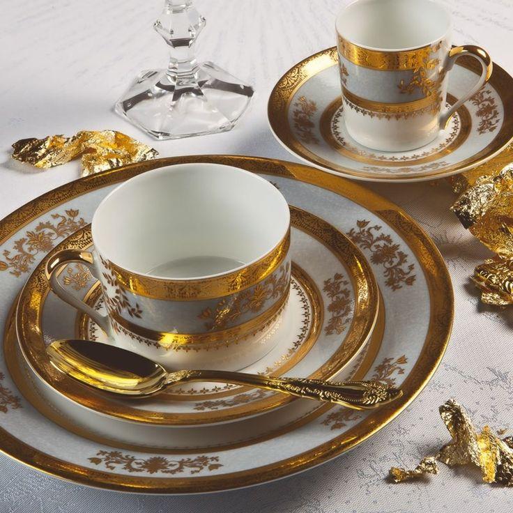 Orsay Sky Grey Dinnerware