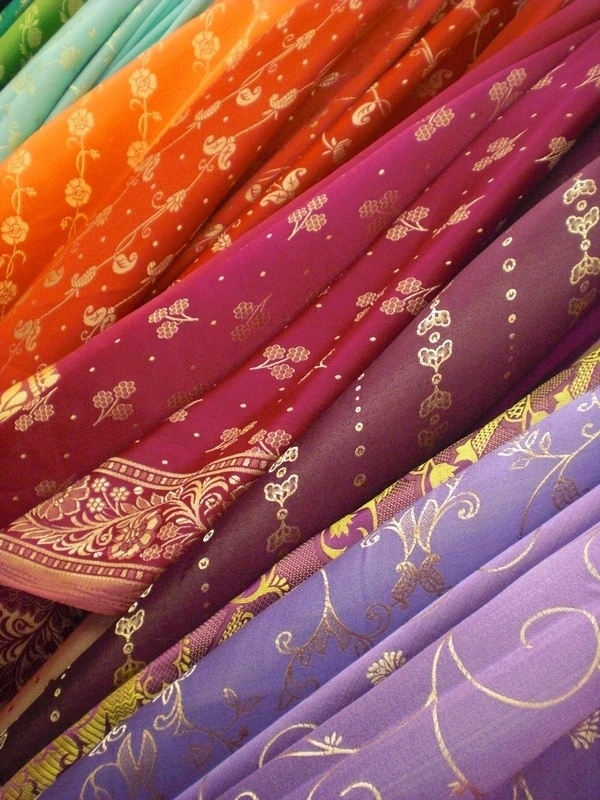Indian saris - Gorgeous. Would love an excuse to wear one