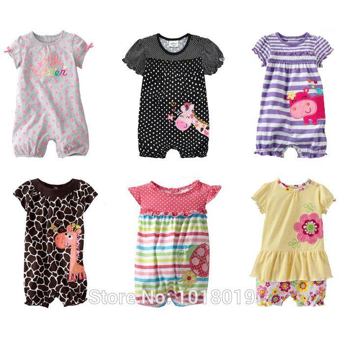 4~24 20mois, 21 styles, nouveau né de coton de qualité 2014 charretiers vêtements pour bébés filles dans de sur Aliexpress.com