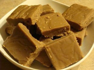 Hershey's Chocolate Peanut Butter Fudge - I believe this is the OLD recipe from the back of the Hershey can.  :)