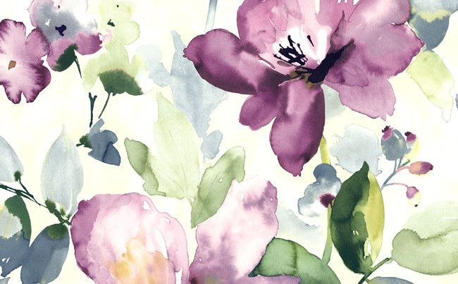 The Villa Floral collection is inspired by the hand-painted silks of Italy's Lake Como region and the beautiful Italian villas that are nestled on the shores of
