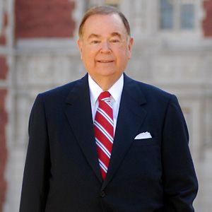 David Boren former US senator and president of University of Oklahoma.