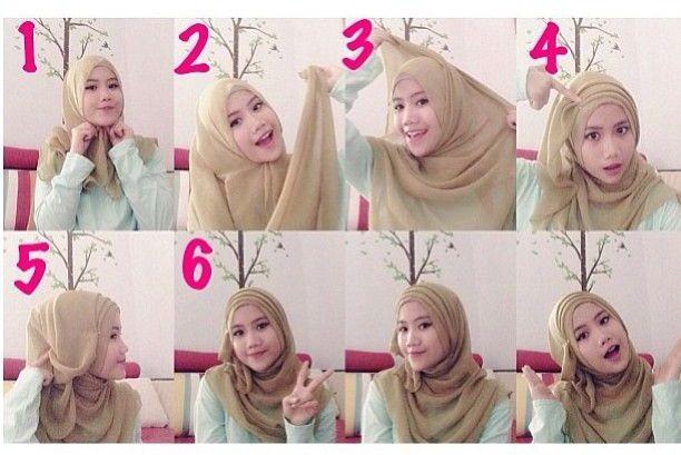 Stylish Folds Hijab Tutorial
